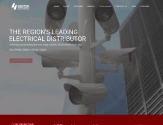 sentorelectrical.com screenshot