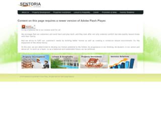 sentoria.com.my screenshot