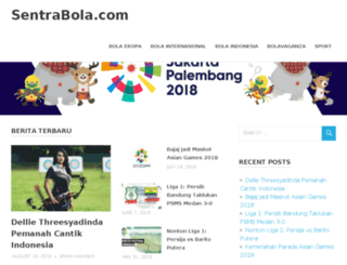 sentrabola.com screenshot
