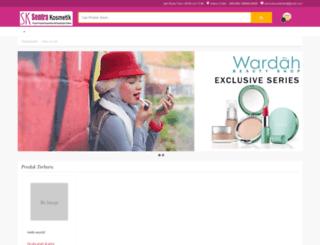sentrakosmetik.co.id screenshot