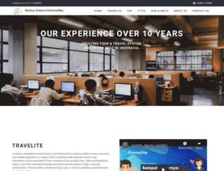 sentrasolusi.com screenshot
