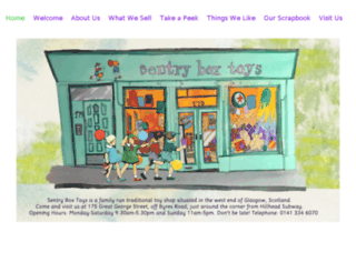 sentryboxtoys.co.uk screenshot
