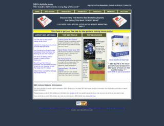 seo-article.com screenshot