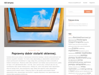 seo-artysta.pl screenshot