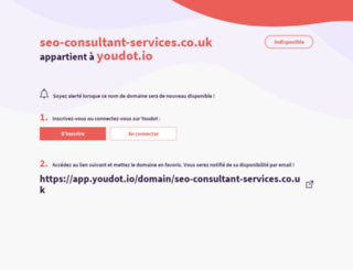 seo-consultant-services.co.uk screenshot