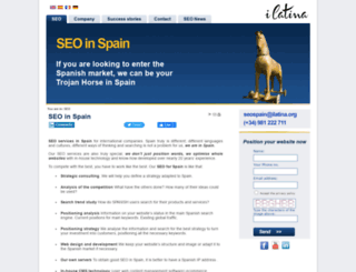 seo-in-spain.ilatina.org screenshot