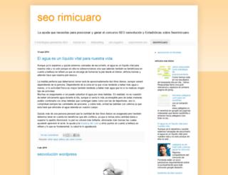 seo-rimicuaro.blogspot.com.ar screenshot