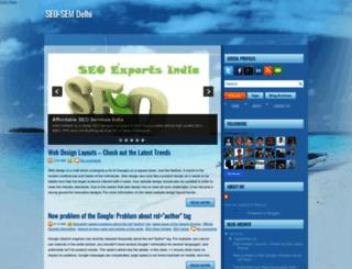 seo-sem-delhi.blogspot.com screenshot