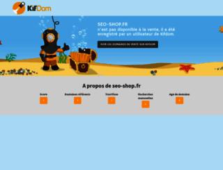 seo-shop.fr screenshot