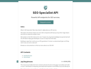 seo-specialist.org screenshot