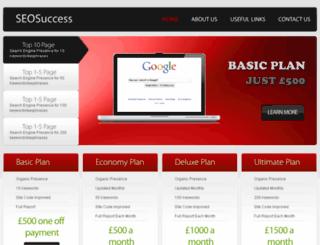 seo-success.com screenshot