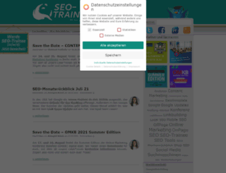 seo-trainee.de screenshot