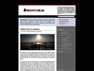 seo-watchblog.de screenshot