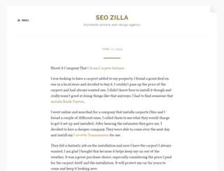 seo-zilla.com screenshot