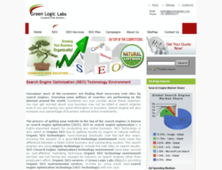 seo.greenlogicindia.com screenshot