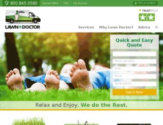 seo.lawndoctor.com screenshot