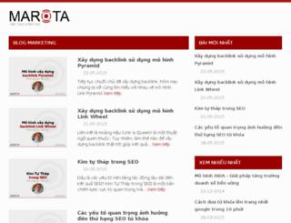 seo.marota.vn screenshot