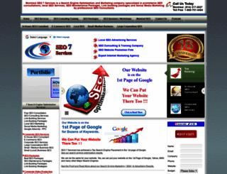 seo7services.com screenshot