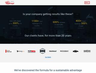 seoadvantage.com screenshot