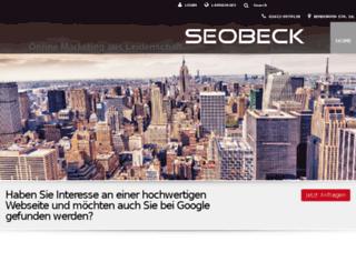 seobeck.de screenshot