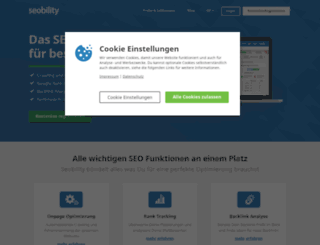 seobility.de screenshot