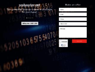 seobooster.net screenshot
