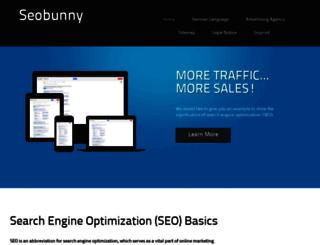 seobunny.com screenshot