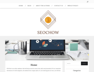 seochow.com screenshot