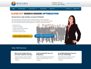 seocurve.com screenshot