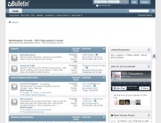 seodiscussionforum.com screenshot