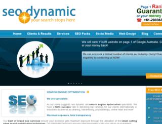 seodynamic.com.au screenshot