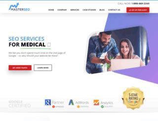 seoforhealthcare.com screenshot