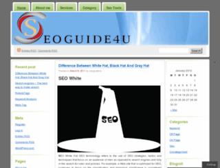 seoguide4u.wordpress.com screenshot