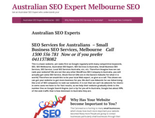 seoguys.com.au screenshot