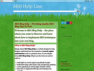 seohelpline1.blogspot.in screenshot