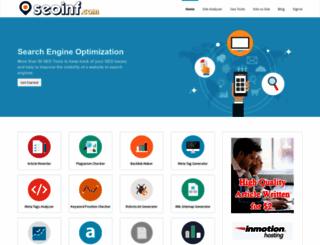 seoinf.com screenshot