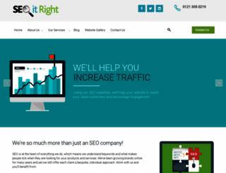 seoitright.co.uk screenshot