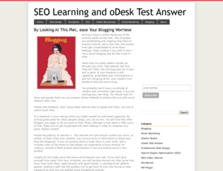 seolearning9.blogspot.com screenshot