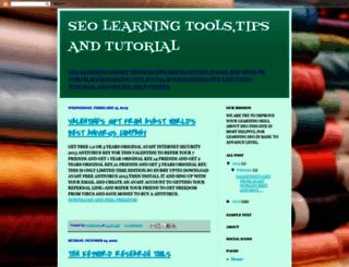 seolearningworld.blogspot.in screenshot