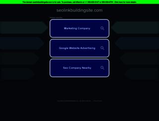 seolinkbuildingsite.com screenshot