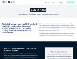 seoluno.co.uk screenshot