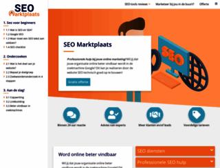 seomarktplaats.nl screenshot