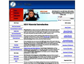 seomaterial.com screenshot
