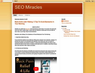 seomiracles.blogspot.in screenshot