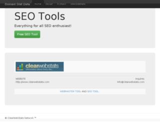 seomoz.org.domainstatdata.com screenshot
