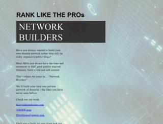 seonetworkbuilders.launchrock.com screenshot