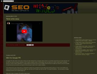 seonewsupdate.blogspot.in screenshot