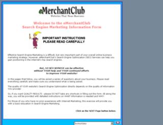 seonlineform.emerchantclub.com screenshot