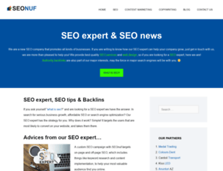 seonuf.com screenshot