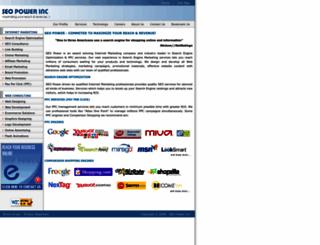 seopower.com screenshot